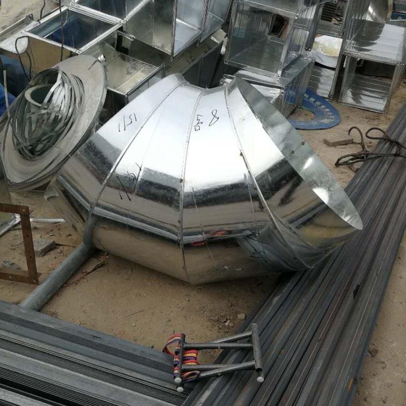 浅谈郑州螺旋风管加工中的板材要怎么减少损