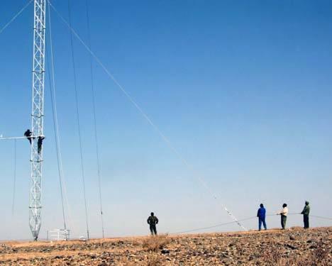 测风塔的安装高度怎样选择呢?