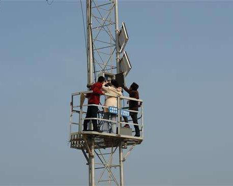测风塔测量数据实现实时上传的方法是什么?