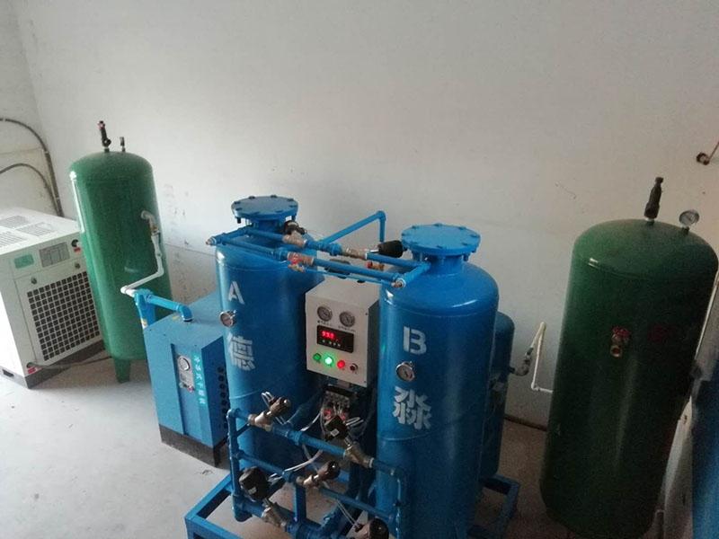 氮气机组安装现场图