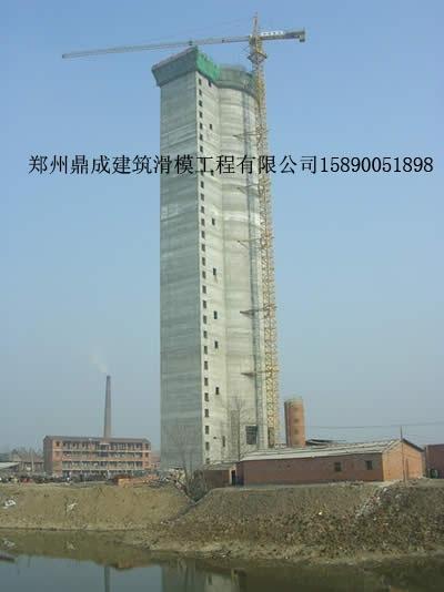 河南信阳造粒塔工地