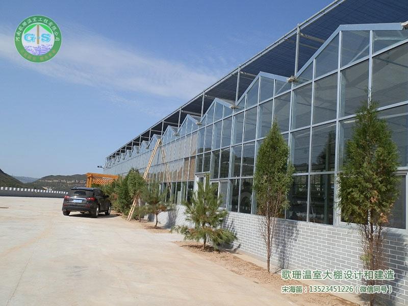 临汾吉县壶口连栋生态餐厅温室