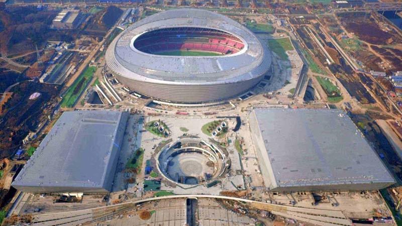 郑州奥林匹克中心通风工程