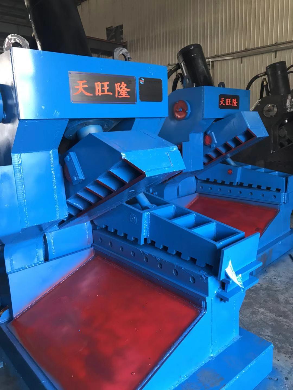 唐山天旺隆液压设备制造弯直钢筋剪一体机,剪切压力120T到315T,剪口长度双侧200mm-600mm