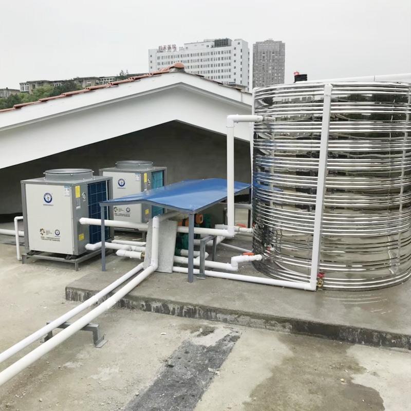 空气能+保温水箱