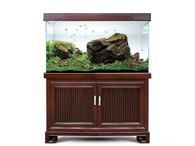 家中要购置实木鱼缸,那么我的鱼缸底柜高度多少比较理