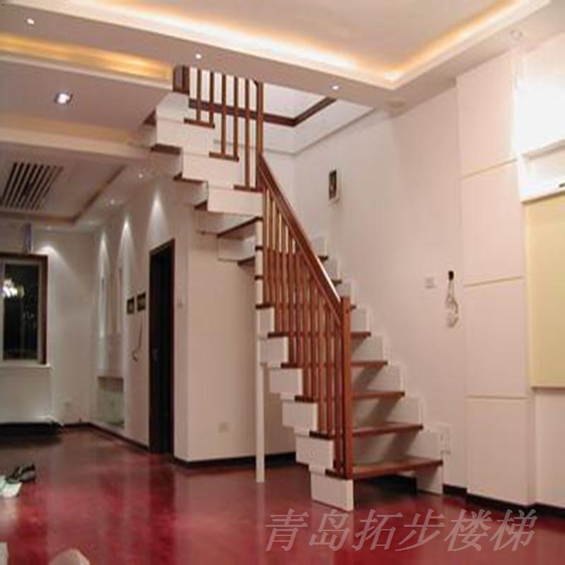 一个好看的楼梯直接影响房子的美观
