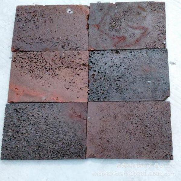 火山石板厂家鼎艺建材告诉您火山石的特点