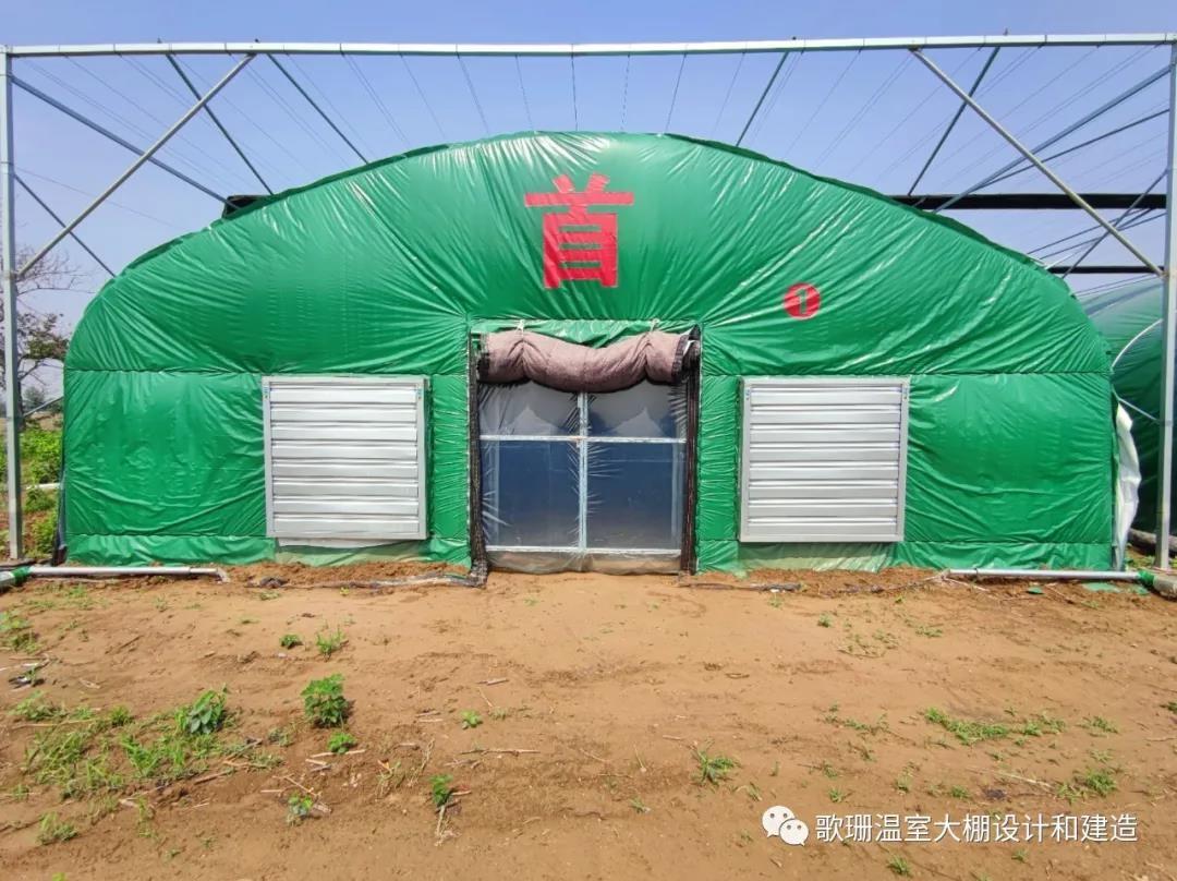 【歌珊温室】洛阳偃师市食用菌连栋遮阳单体