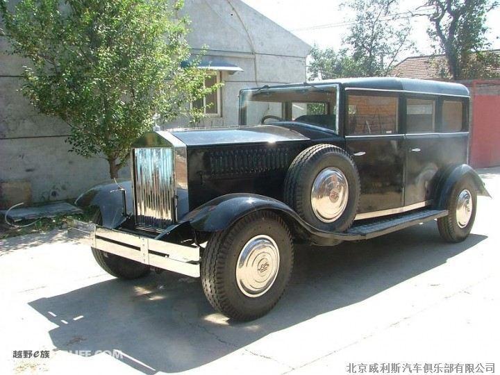 高仿道具轿车1930年劳斯莱斯幻影