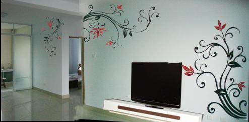 铅笔画                                           淄博壹园手绘墙