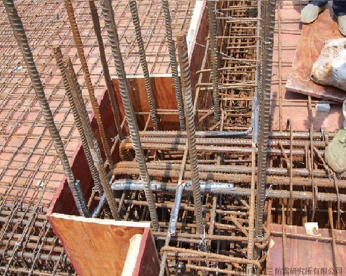 连接焊接)和防雷基础接地母线及防雷接地极安装焊接