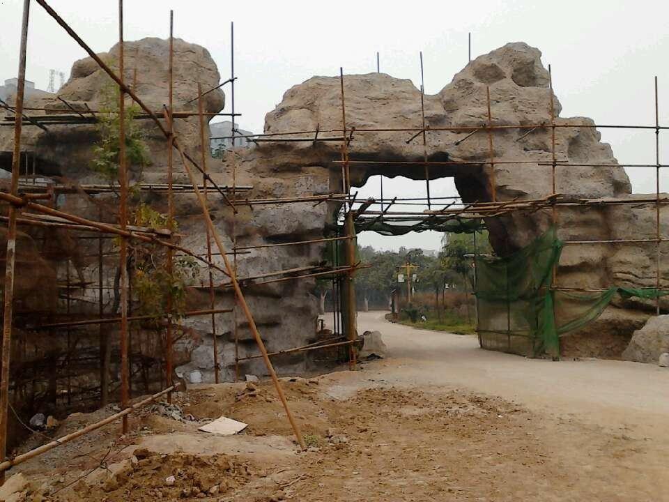 河南漯河森林公园主题雕塑