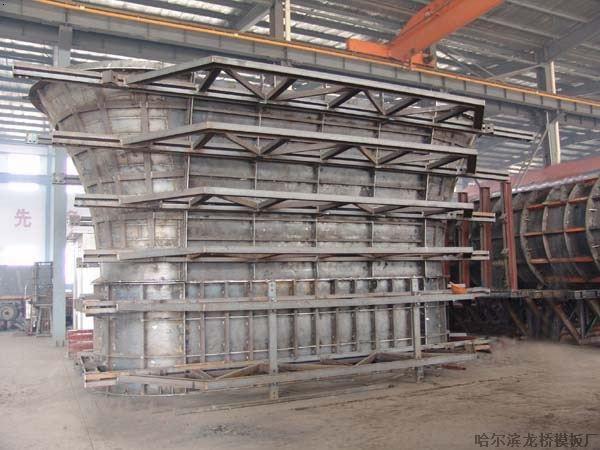 钢模板,加强背楞,角向对拉螺栓组成