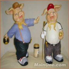 可爱卡通猪头像 可爱卡通猪简笔画