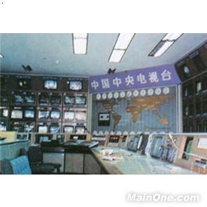 中央电视台主控室电视屏幕墙