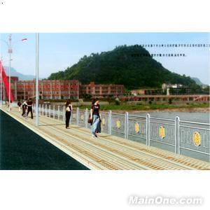 桥梁人行道栏杆 高清图片