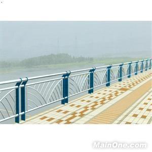 大桥人行道栏杆 高清图片