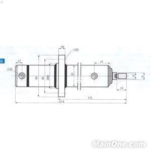 (附液压原理图)油缸爬行问题分析:  你那个画的不是液压锁,是单向节图片