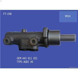 汽车制动总泵的工作原理高清图片