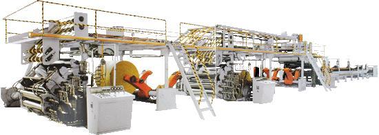 全长51米;结构合理,工艺先进,产品质量高,生产的ab型五层瓦楞纸板或