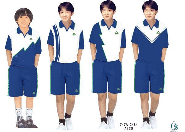 初中生校服设计图手绘