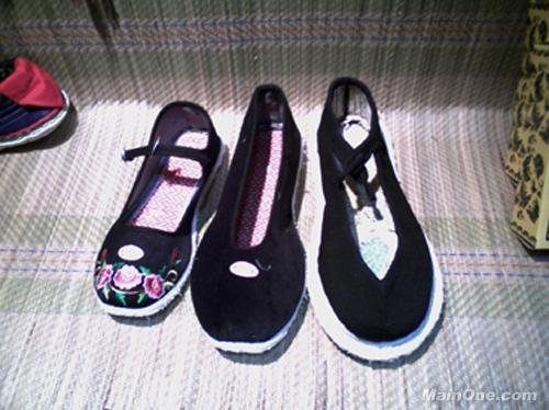 手工 布鞋