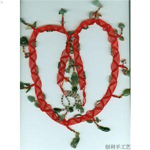 腰链编织方法图解