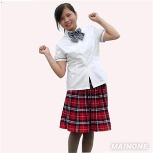 校服小裙子简笔画