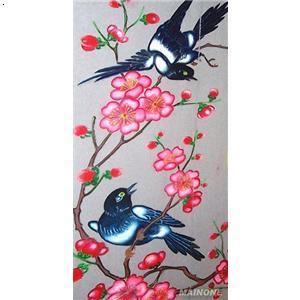 石画-喜鹊闹梅
