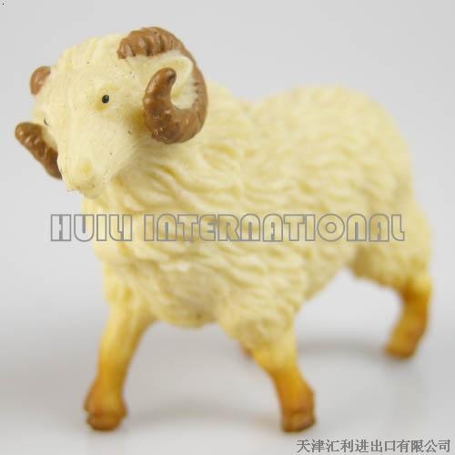 塑胶工艺品-可爱的小羊
