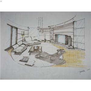 【手绘图(专栏)】厂家,价格,图片_上海灵磊装饰工程