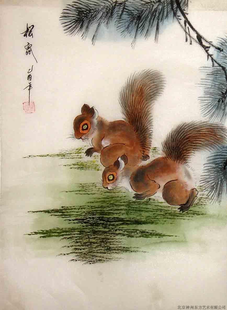 松鼠_北京神州东方艺术有限公司-必途