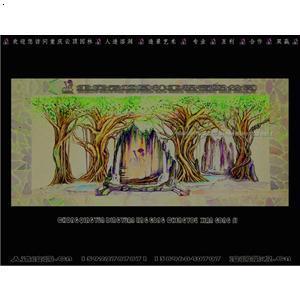【手绘图设计图-4】厂家,价格,图片_重庆云顶溶洞景观