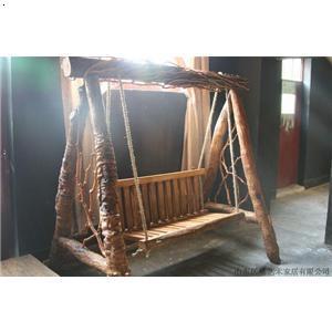 [供应]老榆木家具 2009-07-07   :52; 老榆木电视机柜;; 秋千 摇椅