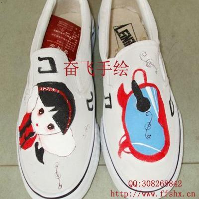 必途 找产品 工艺鞋 服装 >手绘鞋-a33