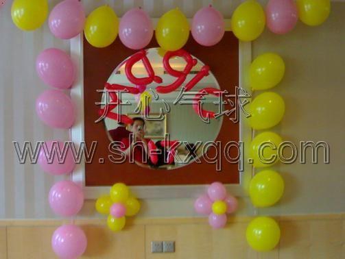 魔术气球造型,长条气球,生日气球图片