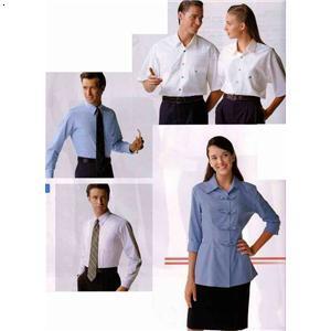 工作服长丝巾的系法图解