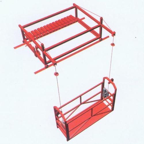 还可以设计制作各种非标吊篮如:船用挂式吊篮,电梯吊篮轨道式滑移吊篮