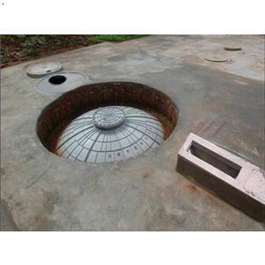 塑料沼气池设计图展示图片