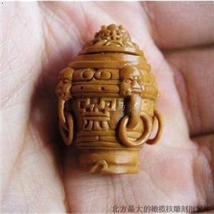 【橄榄核雕刻 香炉】厂家,价格,图片_嘉臻核雕工艺品