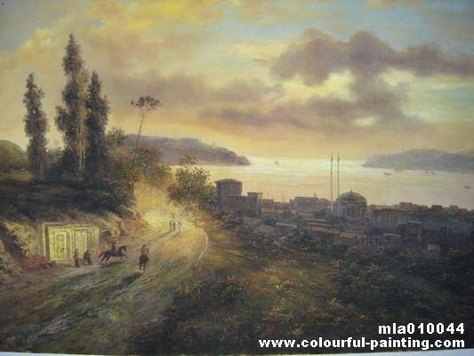 欧洲古典风景油画系列