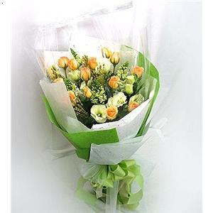 韩国花束包装步骤