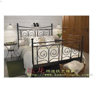 铁艺大床 欧式家具