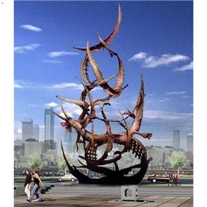机械及行业设备 工程机械,建筑机械 园林和高空作业机械 景观雕塑