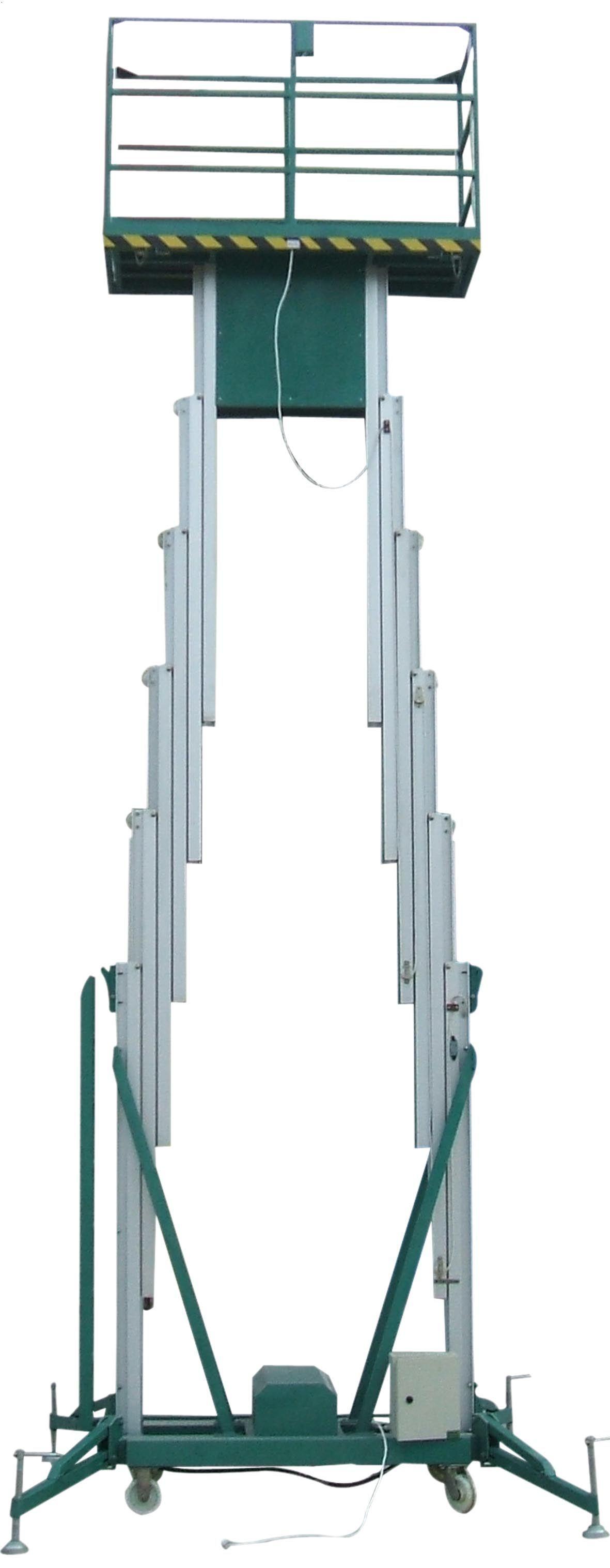 山东久升升降机有限公司铝合金液压升降平台图片