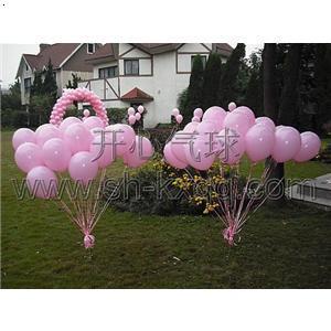 气球简单猪动物图解