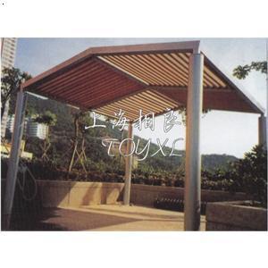 车棚钢结构廊架