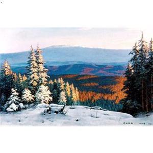 北方风景油画
