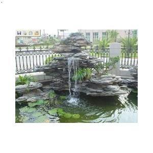 假山水池防水